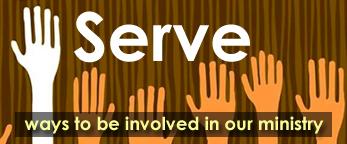 serve button